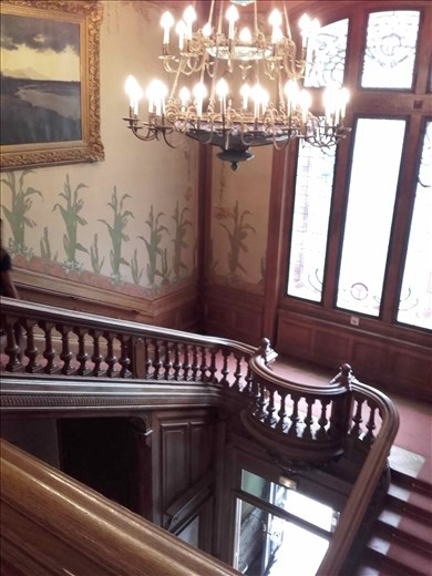 Lyon -- Lumiere brothers -- staircase