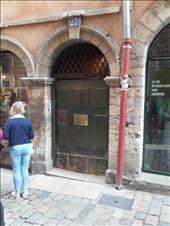 Lyon -- Traboule entrance --