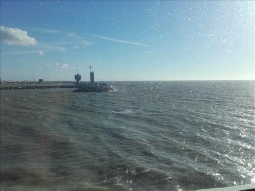 Port of Zeebrugge, Belgium -- heading for Hull, England