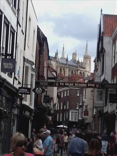 York -- Shambles -- overhanging buildings