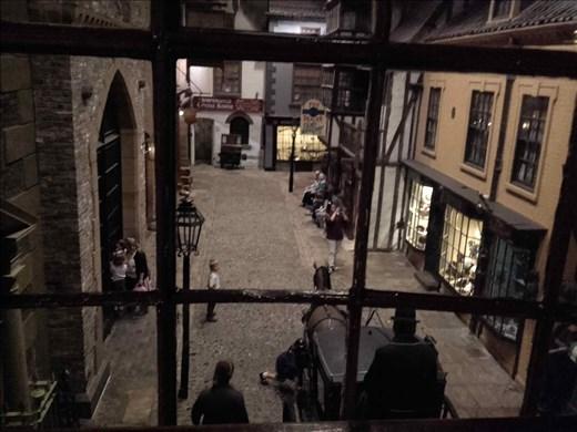 York -- museum -- Victorian street