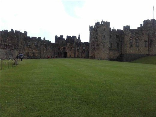 Alnwick Castle -- inspiration for Quiddich field in Harry Potter movies.01