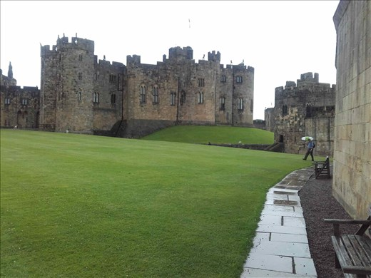 Alnwick Castle -- inspiration for Quiddich field in Harry Potter movies.02