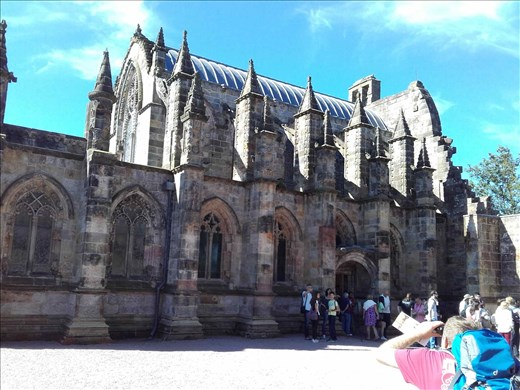 Rosslyn Chapel -- the Divinci Code