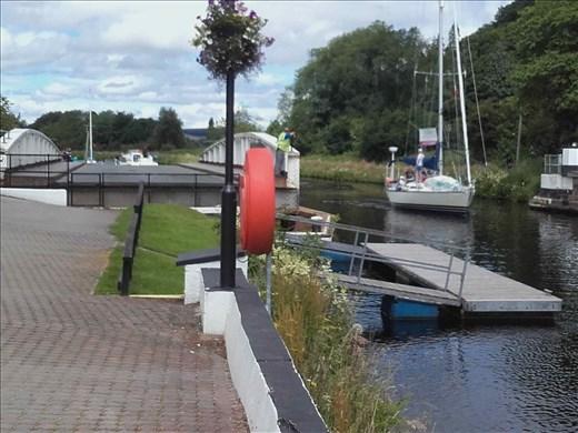 Scotland -- Loch Ness -- canal lock.01