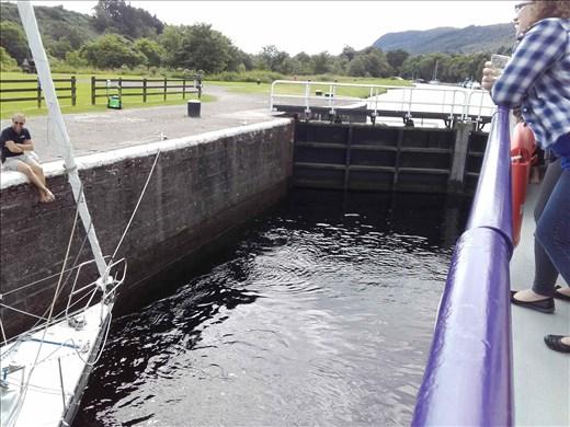 Scotland -- Loch Ness -- canal lock.03