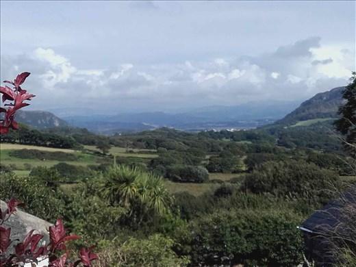 Northern Wales -- Pentrefelin -- view towards the ocean