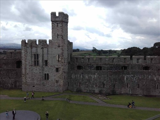 Northern Wales -- Caernarfon Castle.05