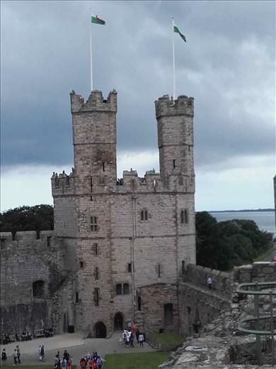 Northern Wales -- Caernarfon Castle.04