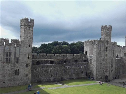 Northern Wales -- Caernarfon Castle.02
