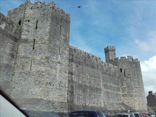 Northern Wales -- Caernarfon Castle.07