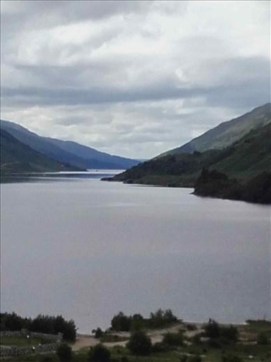 Northwest rural Scotland -- loch emptying into North Sea.01