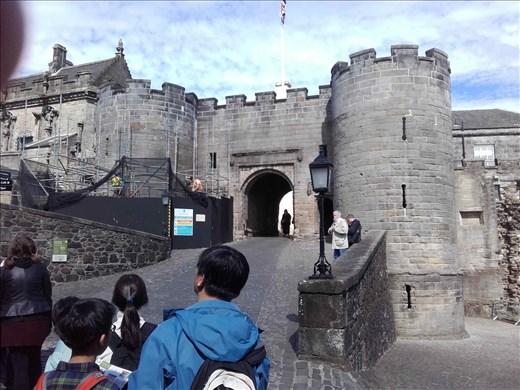 Scotland -- Stirling Castle -- entrance