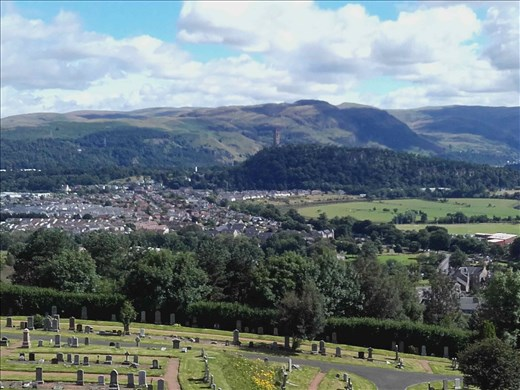 Scotland -- Stirling Castle -- view from ramparts