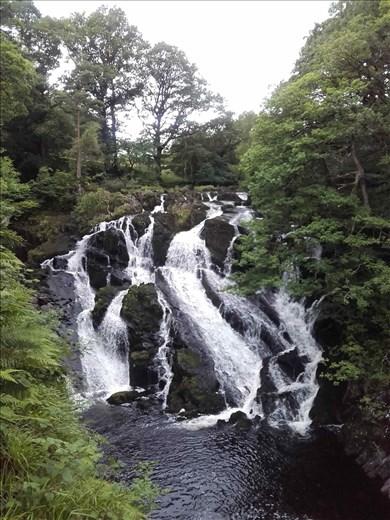 Northern Wales -- Snowdonia -- Swallow Falls.01