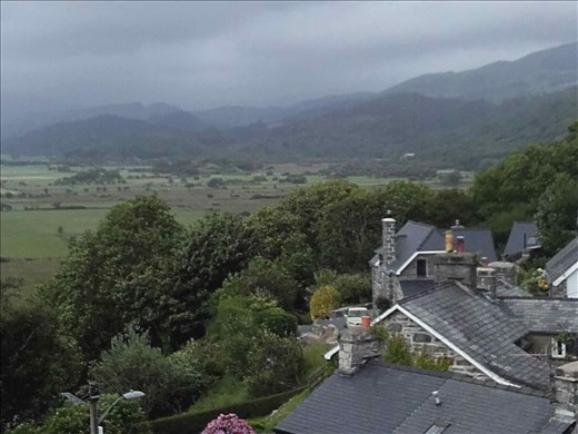 Northern Wales -- Snowdonia -- Harlech Castle.05