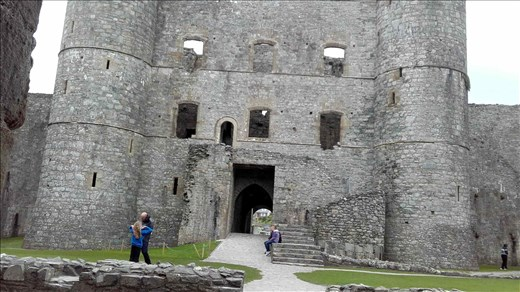 Northern Wales -- Snowdonia -- Harlech Castle.03