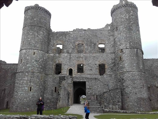 Northern Wales -- Snowdonia -- Harlech Castle.02