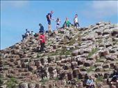 Northern Ireland -- Giant's Causeway -- hexagonal fracturing in lava flow.02: by billh, Views[238]