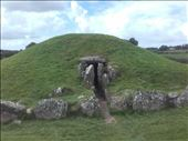 Ireland -- Hills of Tara Neolithic tomb -- entryway: by billh, Views[274]