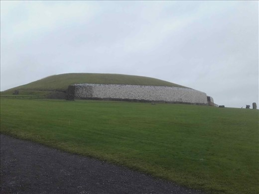 Ireland -- Carrowmore Neolithic mound