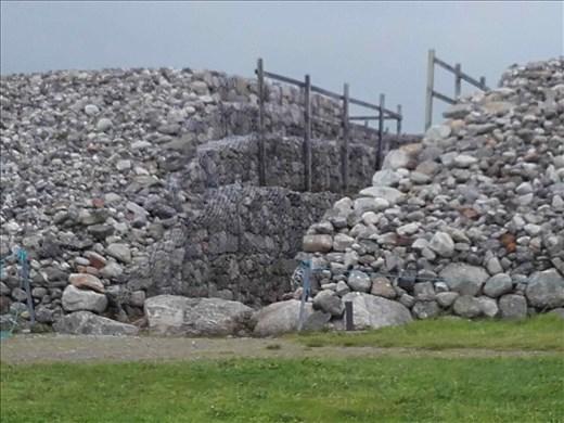 Ireland -- Carrowmore Neolithic mound.03