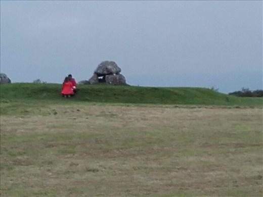 Ireland -- Carrowmore Neolithic mound.06