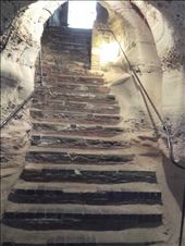England -- Nottingham Castle  -- Mortimer's Hole (tunnel) steps: by billh, Views[175]