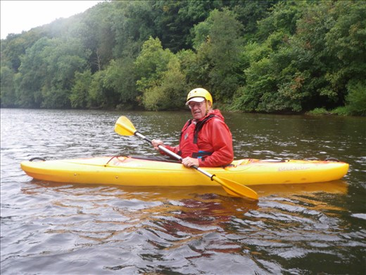 Wales -- Kayaking the River Wye.02