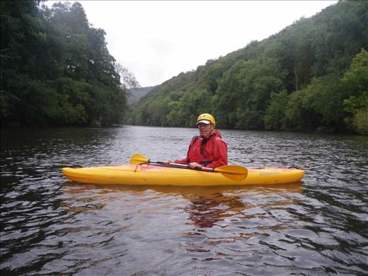 Wales -- Bill Kayaking the River Wye.02
