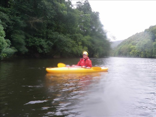 Wales -- Bill Kayaking the River Wye.01