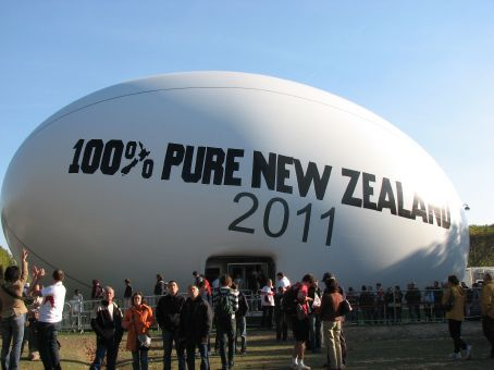 New Zealand promo for 2011 World Cup