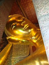 The reclining buddha's head. : by blackntan210, Views[149]