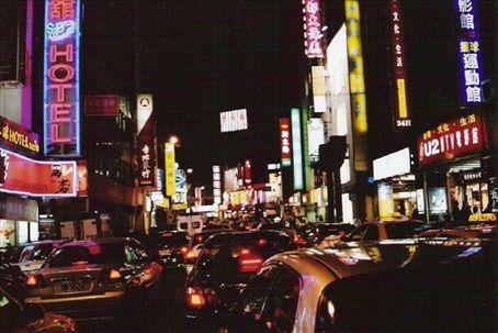 西門町 shopping district (I think)