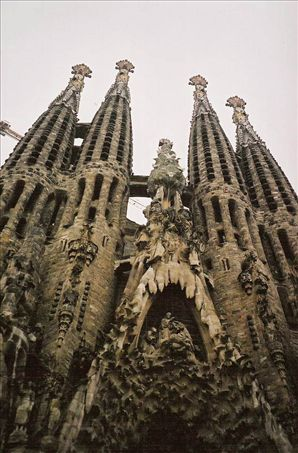 The amazing Sagrada Familia by Gaudi