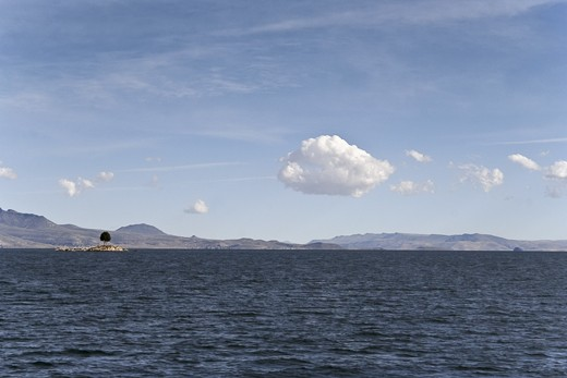 On the way to the Isla del Sol - Titicaca lake