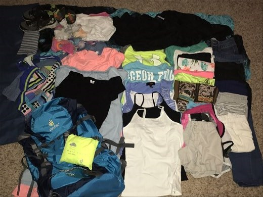 Brooklyn's items: