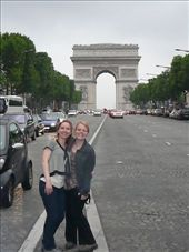 Clare and Jess the the Arc d'Triomphe: by bombers, Views[187]