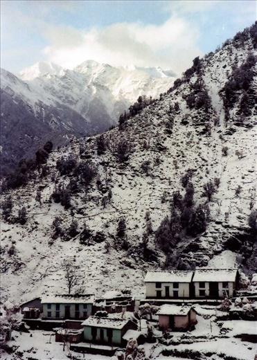 A winters day - Khati, Uttarakhand