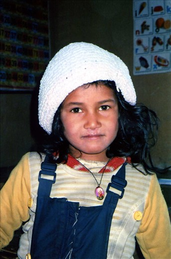 Neha - was just so excited to start school. For her entering Class 1 was a passport to much anticipated library classes.