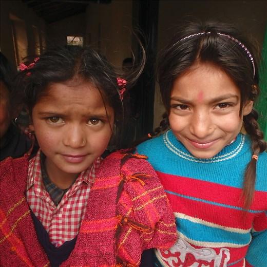Pooja & Nena (Class 2)