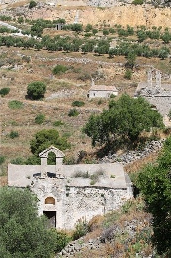 The hill of 300 churches, Aegina