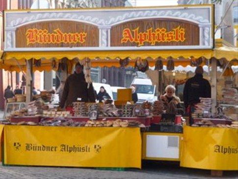 Stalls in Marktplatz