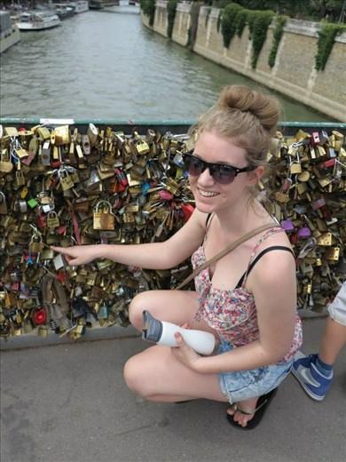 Lock Bridge, Paris.