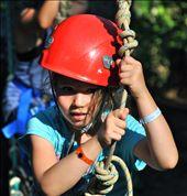 Linnea,6,juvenile arthritis,conquers her fears on high ropes 60ft into the air: by brenda_moreau, Views[121]