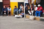 Football is ubiquitous throughout Sth America and San Pedro prison is no exception. US$25,000 a year is spent on gambled on the inter-section football matches with star players being bought and sold between teams.: by brett_nelson, Views[346]