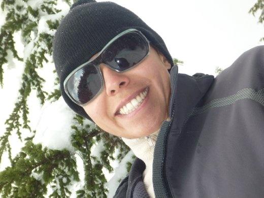 sunglasses in the snow