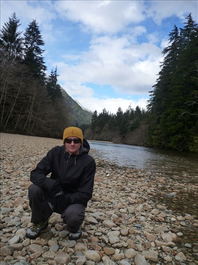 Me at Seymour River