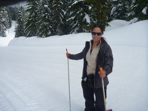 yes, snowshoeing is that much fun