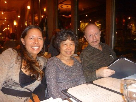 Danielle, Elvia and Ray